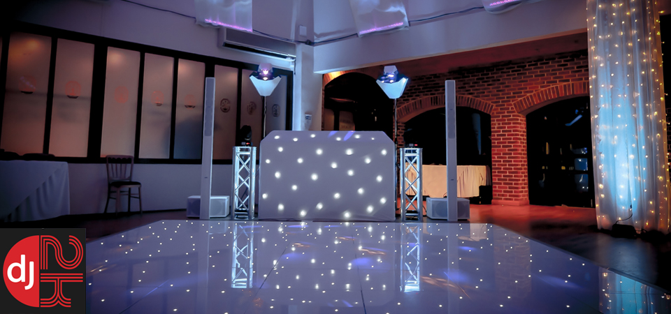 Denbies Wine Estate in Surrey - Wedding DJ, Star Lit LED Twinkle Dance Floor