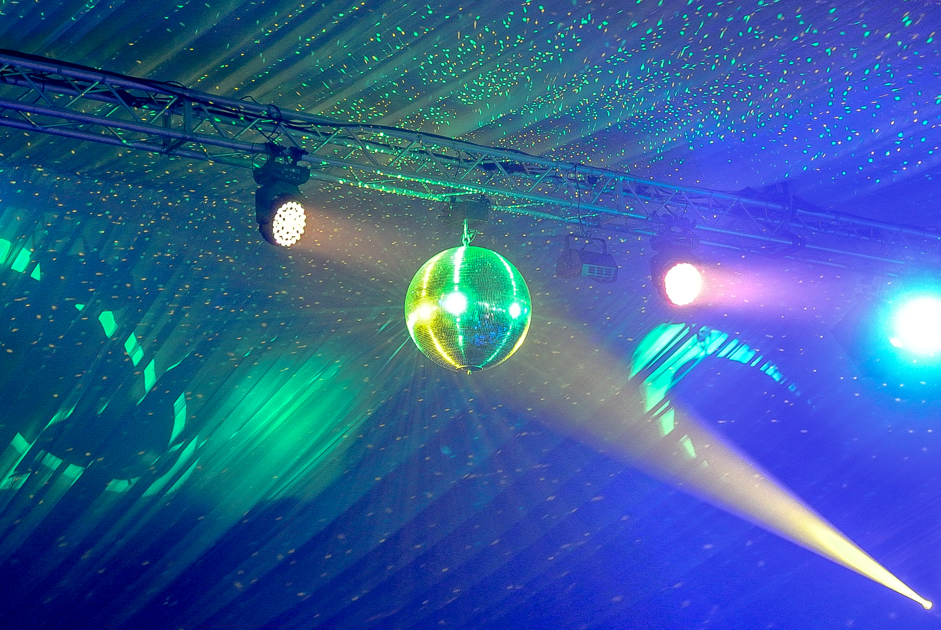 Disco Lighting Hire Surrey