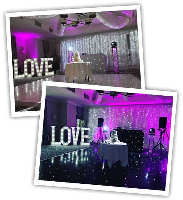 Wedding DJ Hire Surrey dance floor