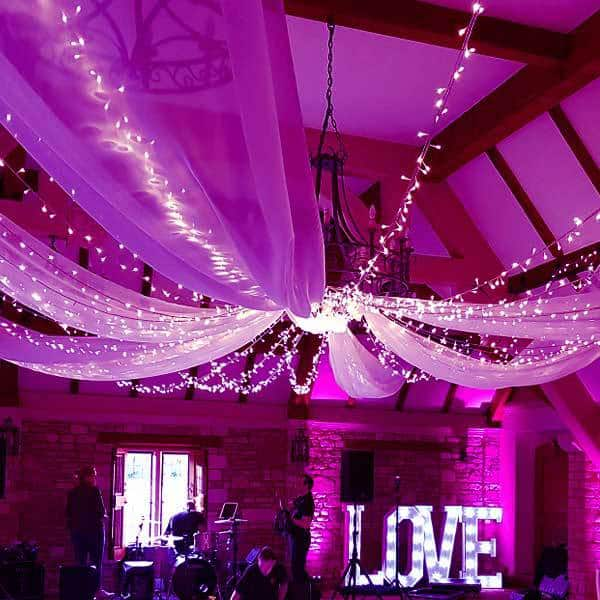 drapery hire london surrey 2 - Wedding DJ London