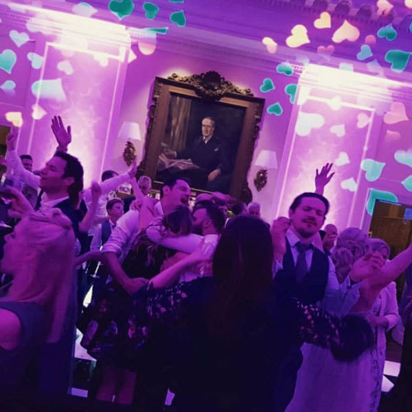 Wedding DJ Hire Surrey people dancing