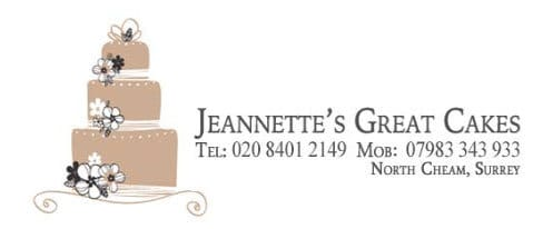 jeannettes great cakes - Recommended Suppliers