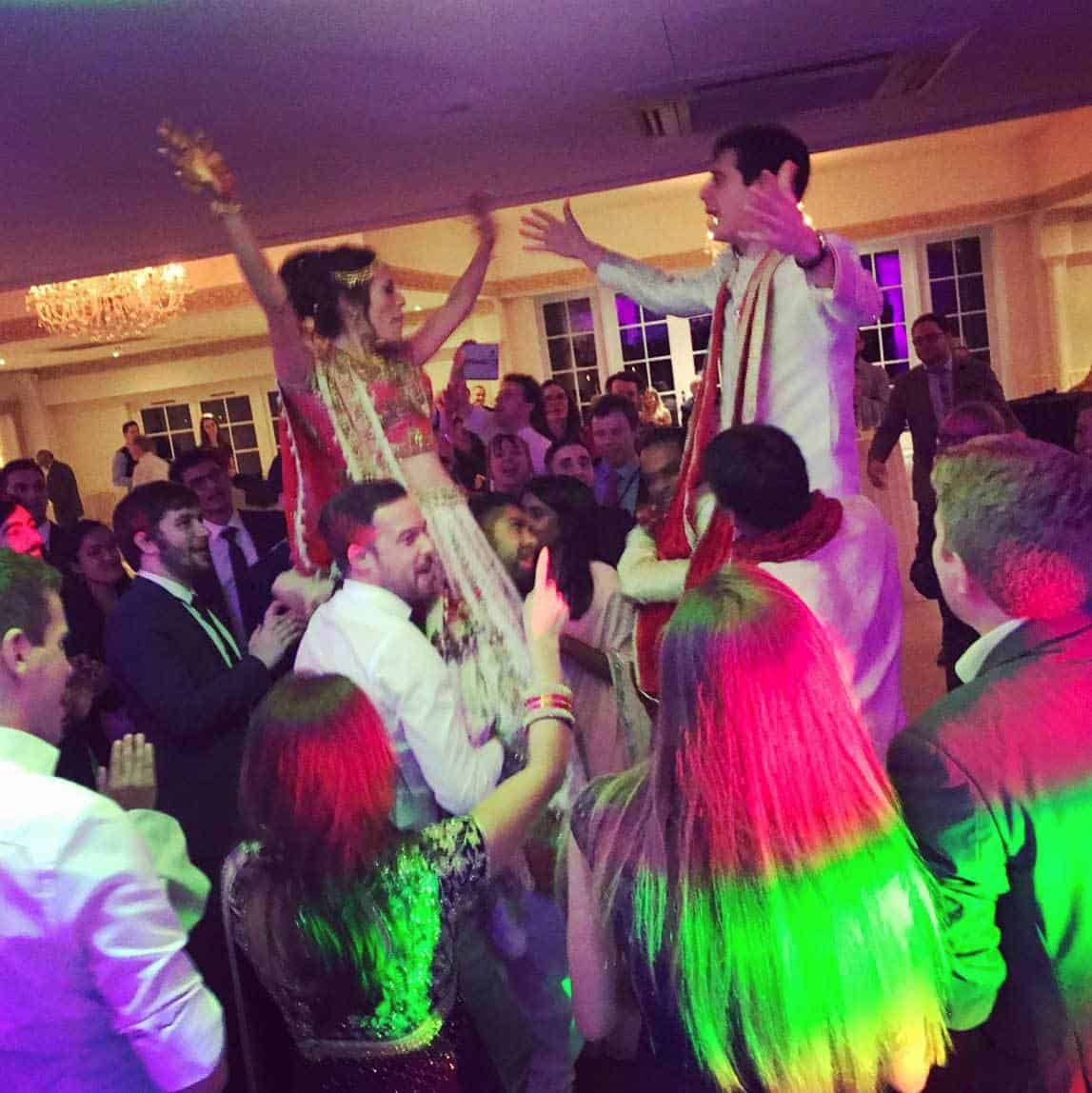 multi-cultural wedding dj hire