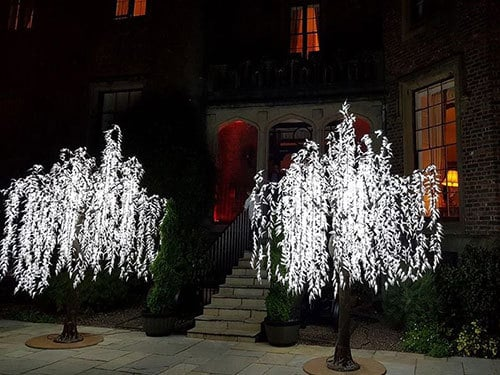 LED trees for weddings